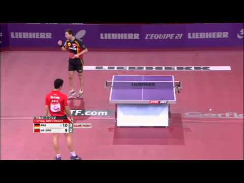 WTTC 2013 Highlights: Timo Boll vs Ma Long (1/4 Final)