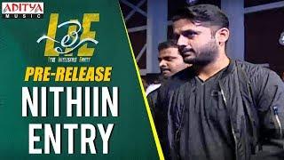 Nithiin Entry @ Lie Movie Pre Release || Lie Movie || Nithiin, Megha Akash || Mani Sharma - ADITYAMUSIC