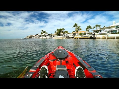 Kayak Fishing by $1,000,000 Homes in Florida! - Offshore (Powered by Old Town)