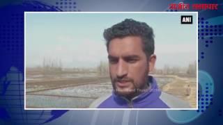 video : जम्मू-कश्मीर : ताज़ा बर्फ़बारी के कारण किसानों के खिले चेहरे
