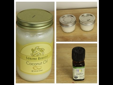 Homemade Natural Deodorant  How to make deodorant at home with coconut oil