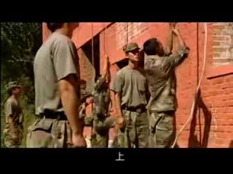 Chinese army commandos (episode from Chinese film)