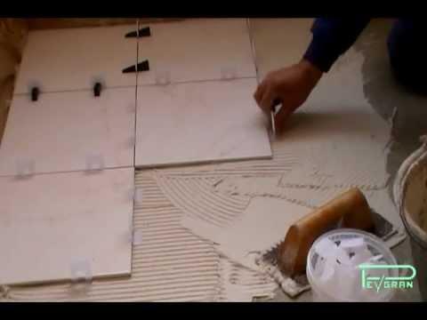 Sistema de nivelación de cerámica para pavimento y pared. Nivelación de fachadas ventiladas