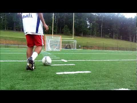 Football (Soccer) Tricks Tutorials - How to do the Maradona (360 Roulette)