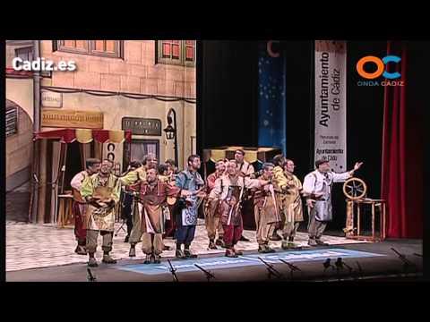 La agrupación Artesanos llega al COAC 2014 en la modalidad de Comparsas. Primera actuación de la agrupación para esta modalidad.