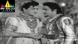 Alibaba 40 Dongalu Movie NTR and Naga Bhushanam Scene || NTR, Jaya Lalitha - SRIBALAJIMOVIES