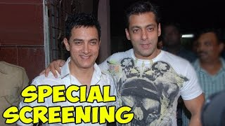 Aamir Khan to hold PK Movie's special screening for Salman Khan | PK Movie