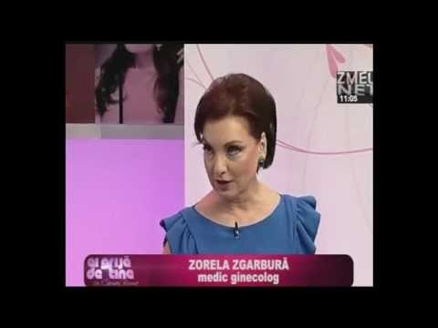 Dr. Zorela Sgarbura , Mihaela Tatu si Carmen Bruma discutand despre fibromul uterin.
