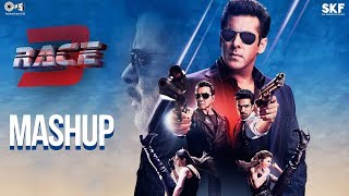 Race 3 Official Mashup | Kiran Kamath | Anil Kapoor, Salman Khan, Jacqueline, Bobby, Daisy, Saqib - TIPSMUSIC