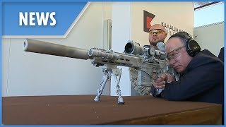 Putin fires new Kalashnikov SVCh-308 sniper rifle prototype - THESUNNEWSPAPER