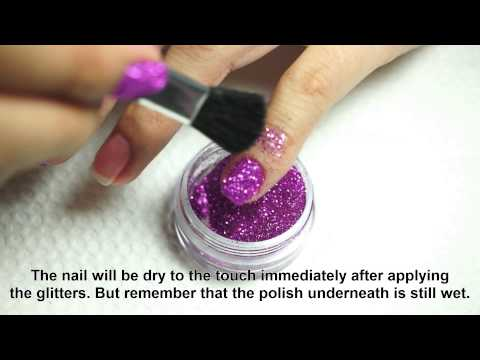 Tutorial and Tips: BYS Glitter for Nails