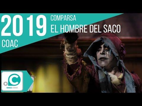 La agrupación El hombre del saco llega al COAC 2019 en la modalidad de Comparsas. Primera actuación de la agrupación para esta modalidad.