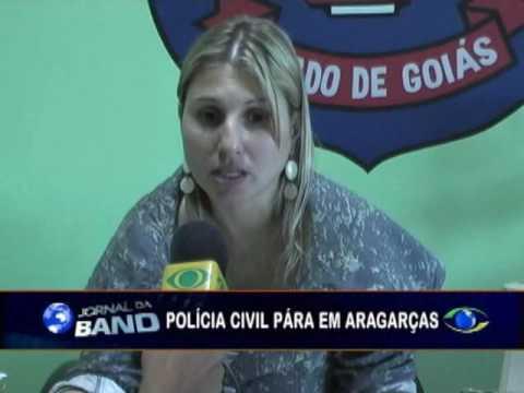 Polícia Civil de Goiás entra de greve