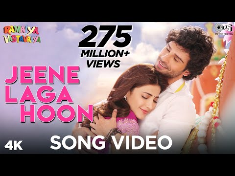 Jeene Laga Hoon - Ramaiya Vastavaiya - Official Video - Girish Kumar &amp; Shruti Haasan