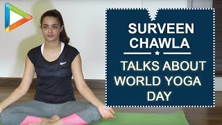 Suvereen Chawla talks about YOGA on World Yoga Day - HUNGAMA