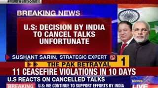 U.S responds on cancellation of Indo-Pak Foreign Secretary talks - NEWSXLIVE