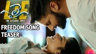 #LIE Movie Freedom Song Teaser - Nithiin, Arjun, Megha Akash | Hanu Raghavapudi - 14REELS