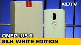 OnePlus 6 Silk White Limited Edition - NDTV
