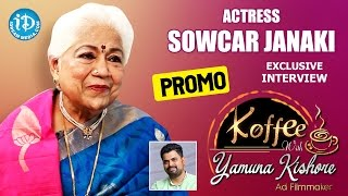 Actress Sowcar Janaki Exclusive Interview PROMO || Koffee With Yamuna Kishore #12 - IDREAMMOVIES