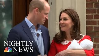 Prince William And Kate Middleton Welcome Third Child | NBC Nightly News - NBCNEWS