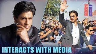 Shah Rukh Khan Interacts With Media At Magnetic Maharashtra Media Session   Part 1 - HUNGAMA