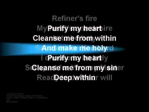 Refiner's Fire worship video w  lyrics)