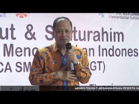 Menristekdikti Berangkatkan SM3T di UNM Makassar