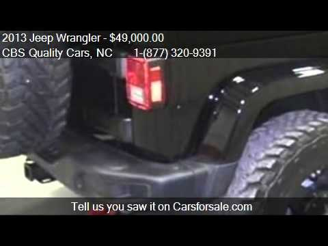 2013 Jeep Wrangler Rubicon 10TH Anniversary for sale in DURH