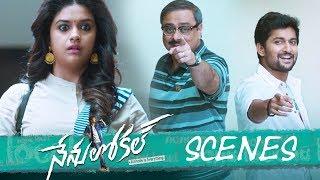 Nenu Local Movie - Shopping Complex Comedy Scene - Nani, Keerthy Suresh - DILRAJU