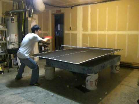 Free Table Table Tennis Return Board