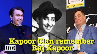 Raj Kapoor: The Kapoor Clan remember the Showman - IANSINDIA
