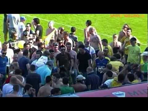 Il Trento Calcio torna in serie D: la festa dei tifosi