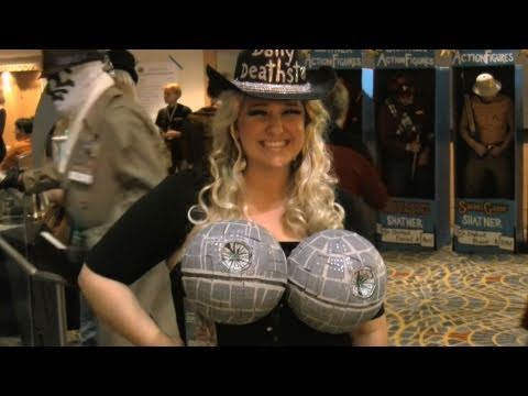 Chad Vader spots some friends at Dragon Con 2010