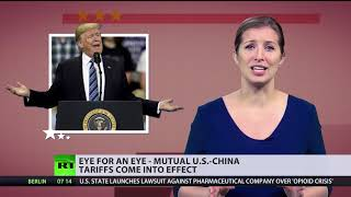 Eye for an eye: Mutual US-China tariffs come into effect - RUSSIATODAY