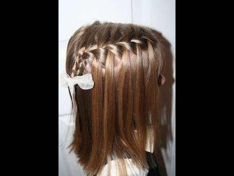 very cute hairstyle with natural flutter tip hair operation christmas child