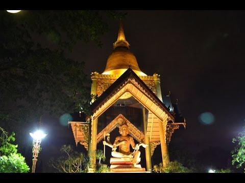 Indahnya Patung Maha Brahma di Surabaya Pada Malam Hari