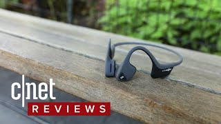 AfterShokz Trekz Air bone-conducting headphone review - CNETTV