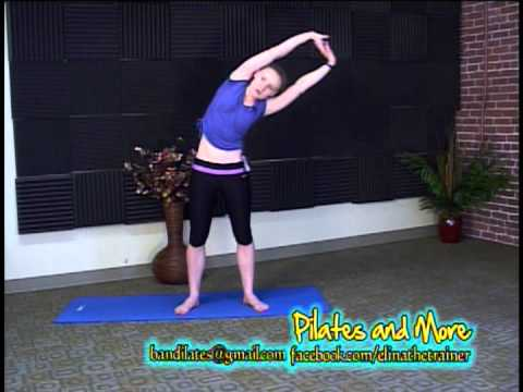 Beginner's Aerobics and Stretching exercise video