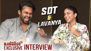 Sai Dharam Tej And Lavanya Tripathi Exclusive Hilarious Interview | #Inttelligent | TFPC - TFPC