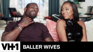 Michael Vick's Wife, Kijafa, Is Annoyed By His Kaepernick Comments 'Sneak Peek' | Baller Wives - VH1