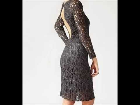 How to crochet dress - Ganchillo vestido - crochê vestido Free Pattern