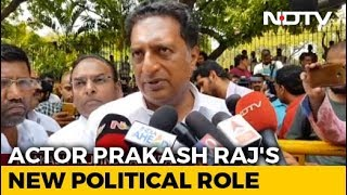 """Why The Pressure?"" Prakash Raj On Whether He Will Divide Anti-BJP Votes - NDTV"