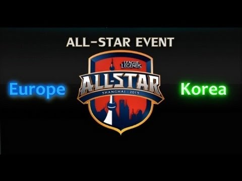 LCS All-stars: Europe vs Korea - Game 1 Highlights