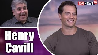 Rajeev Masand Interview With Henry Cavill | CNN News18 - IBNLIVE