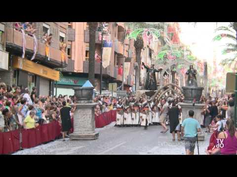 Desfile Embajada Cristiana - Moros y Cristianos - Ontinyent 2012