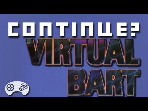 Virtual Bart (GEN) - Continue? (Sci-Fi Month!) featuring a comic by Evan McStay!