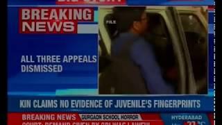 Gurugram school murder update; class 11 student to be tried as adult - NEWSXLIVE