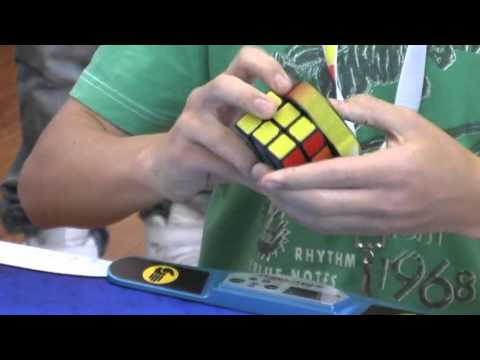 Rubik's cube official world record: 6.65 seconds Feliks Zemdegs