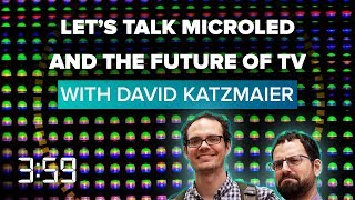 MicroLEDs and more: Staring into the future of TVs  (The 3:59, Ep. 520) - CNETTV