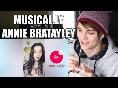 Best Annie Bratayley Musical.ly Compilation of January REACTION!
